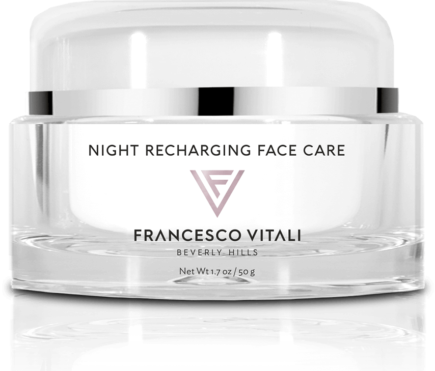 night recharging face care