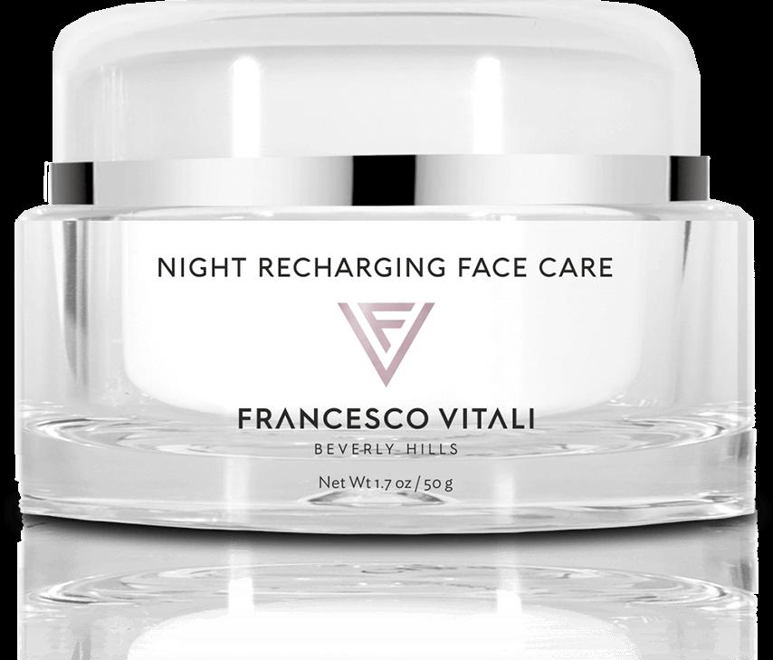 night recharging face care