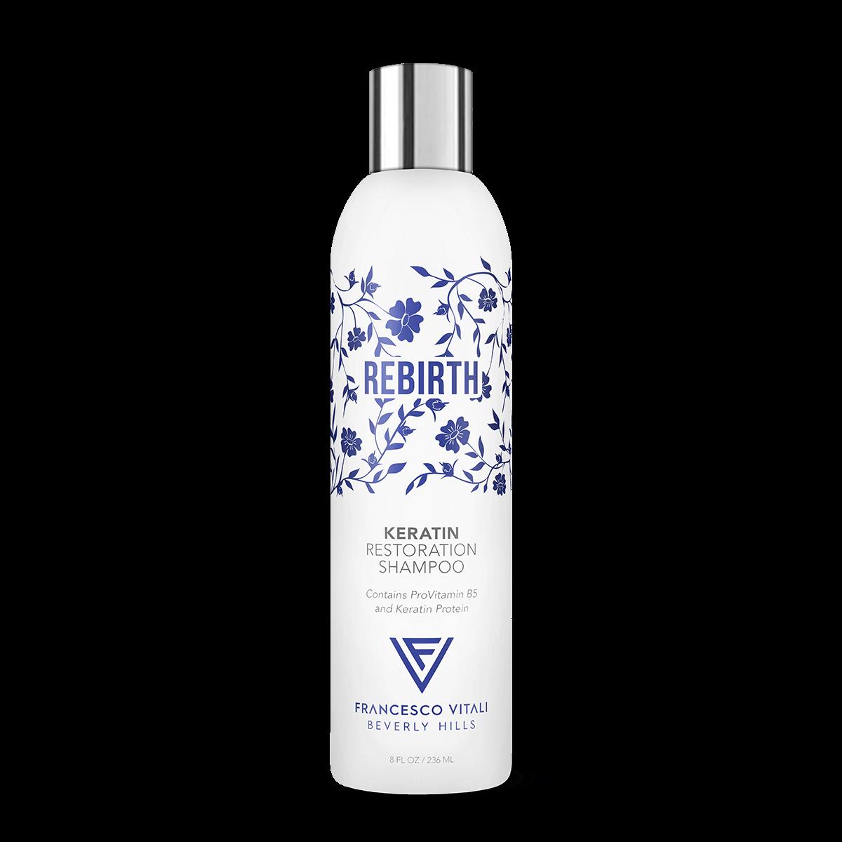 Rebirth Keratin Restoration Shampoo
